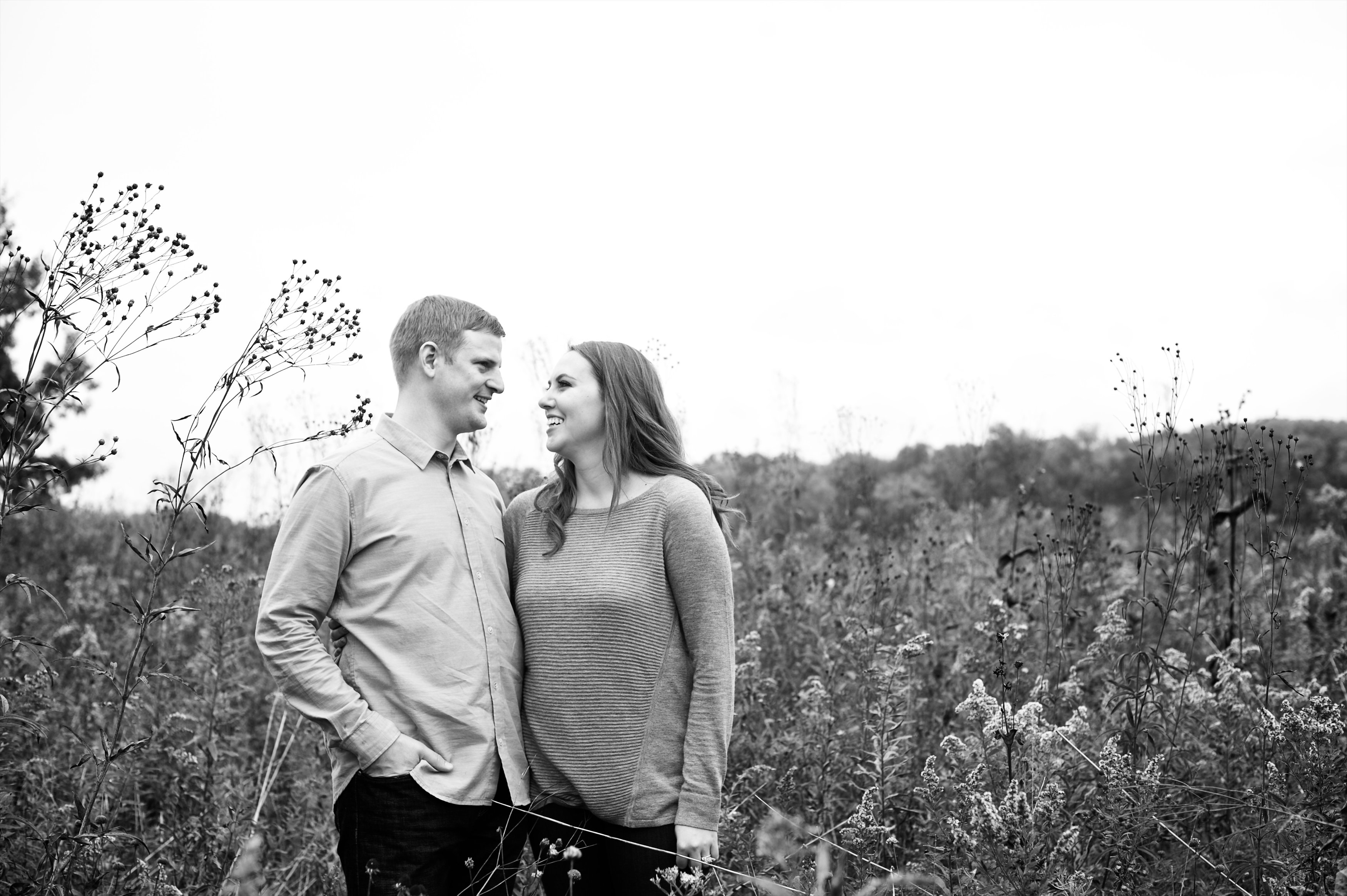 We couldn't be more happy with our gorgeous engagement photos by Beale and Wittig! These are perfect fall engagement photos with the fall colors looking so beautiful. Check them out for some engagement photo ideas!