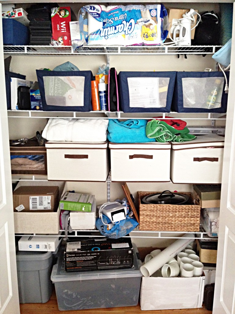 closet organizers before