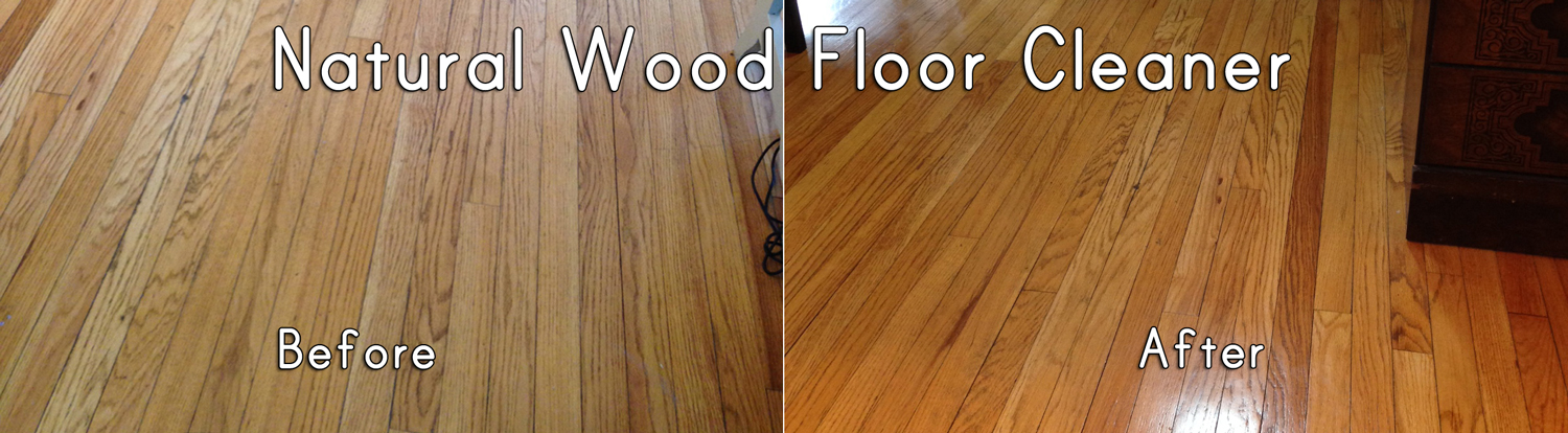 Natural hardwood floor cleaner recipe
