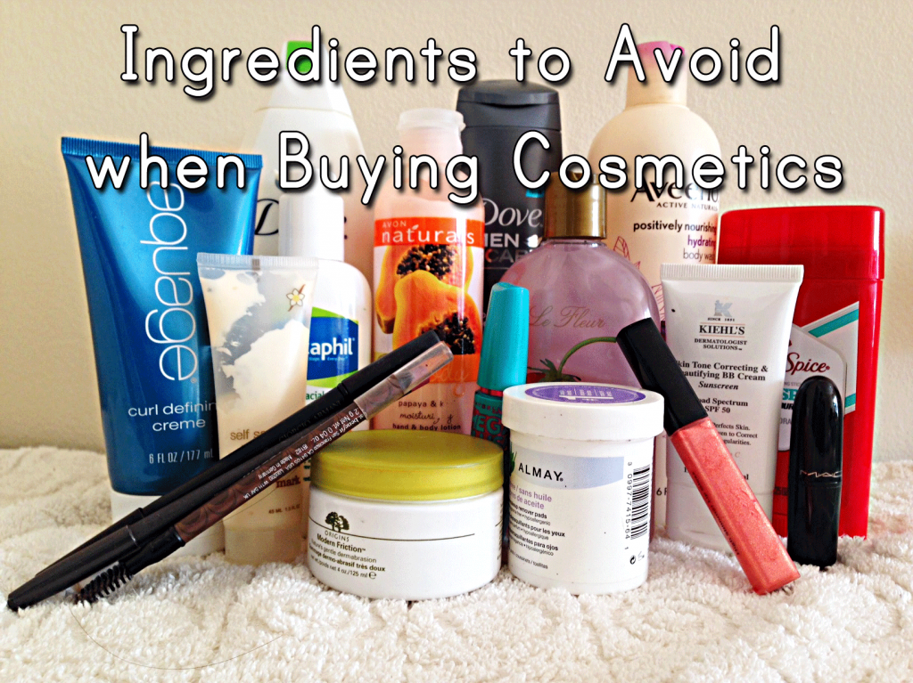 harmful ingredients to avoid when buying cosmetics