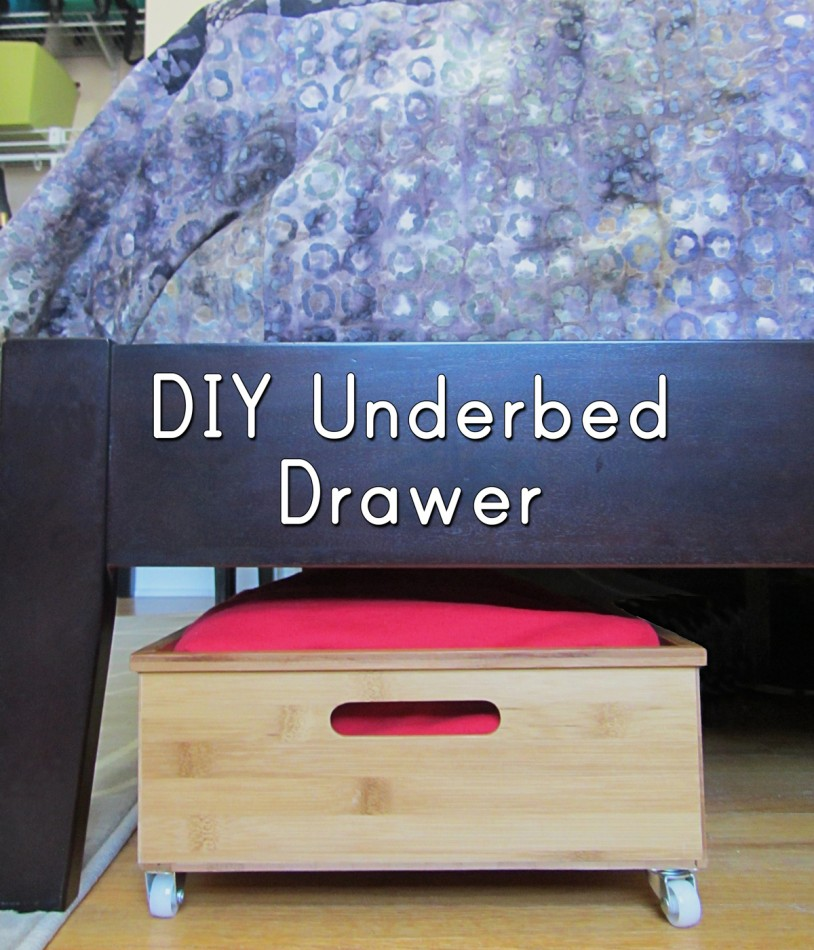 This is such a great bedroom storage idea! This DIY under bed drawer lets you make the most of your space in the bedroom. It's such an easy DIY to follow. DIY organization ideas are always great, and this one is functional and attractive.