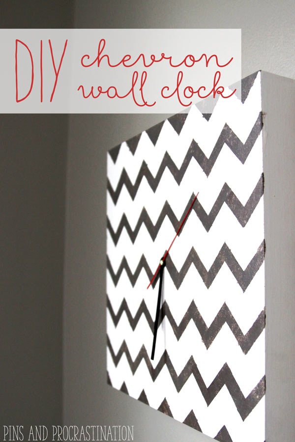 I love cool wall clocks, but some are just so expensive. I didn't realize how easy clocks are to make! This simple DIY only costs $15- way less than the $100 West Elm clock I had been eyeing. And I love how it looks in my home!