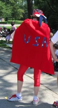 Patriotic getup
