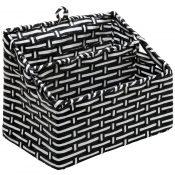 amazon black and white woven-min