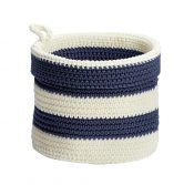 amazon small knit blue and white