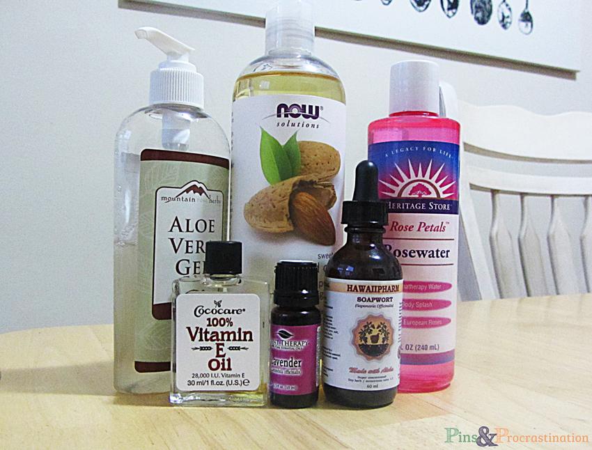 Natural Homemade Anti Inflammatory Aloe Vera Face Wash