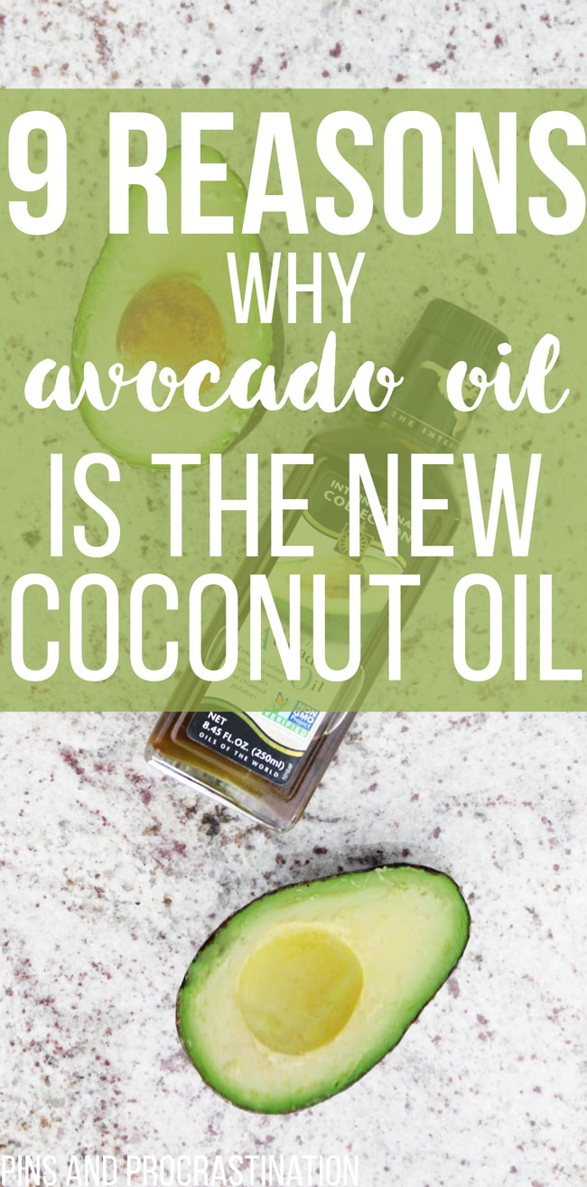 I love coconut oil, but lately I've been sensing a trend. Avocado oil is quickly replacing coconut oil as the best oil to use- it's great for skincare, healthy cooking, and more. This list explains a lot of the amazing benefits of avocado oil- I was surprised by number 8!