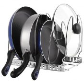 container store cookware organizer