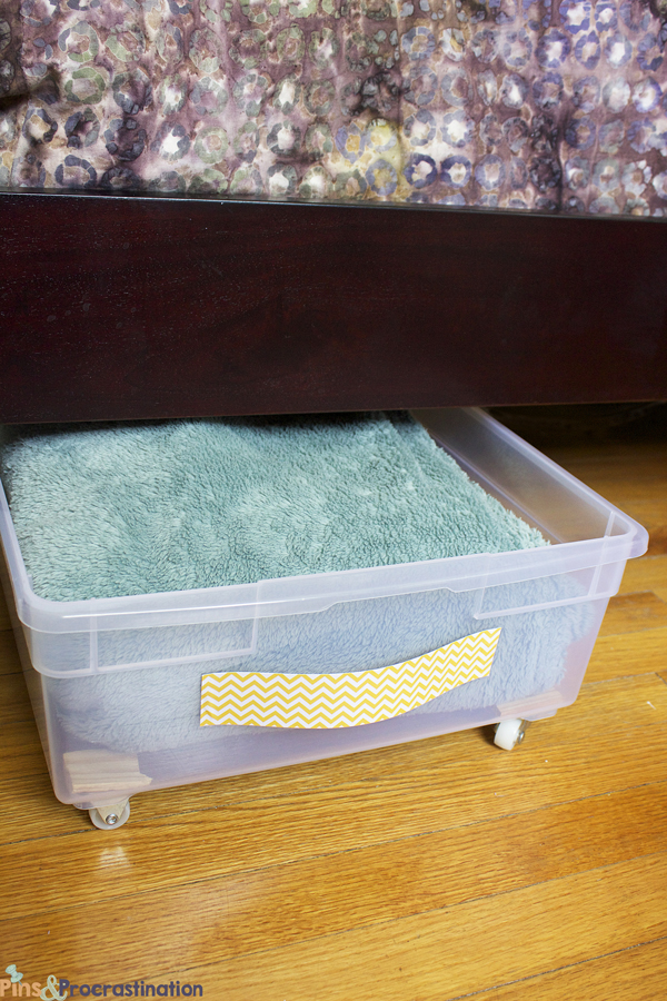 Plastic Storage Drawers Under Bed