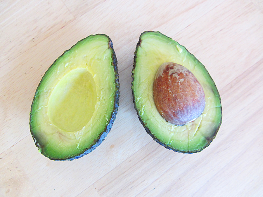 Eggvocado: egg baked in an avocado