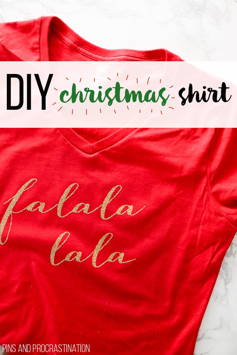 Do It Yourself Christmas Shirts.Diy Christmas Shirt Pins And Procrastination