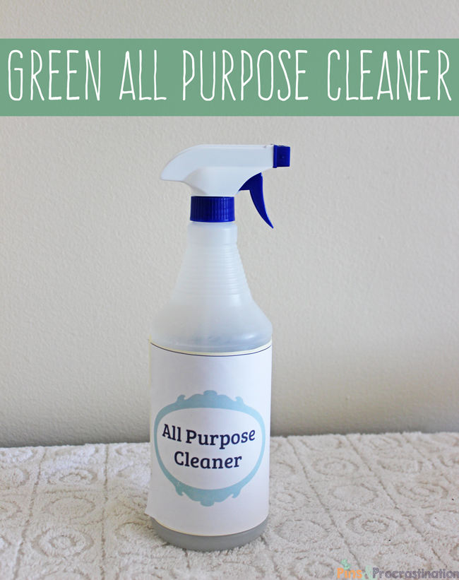 Green Bathroom Cleaners All Purpose Cleaner