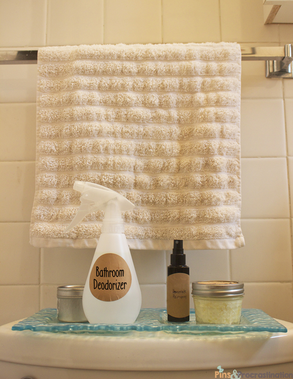 Green Bathroom Cleaners Part Three Bathroom Deodorizing Spray