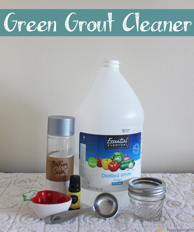 Green Bathroom Cleaners Grout Cleaner