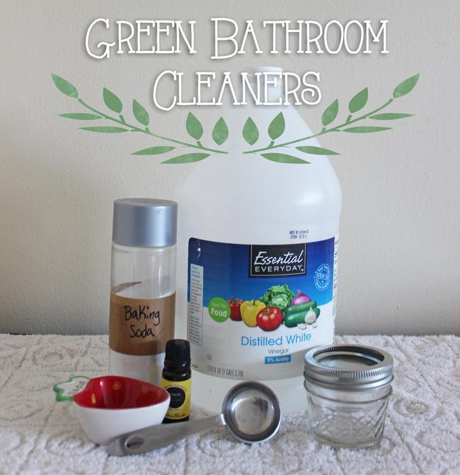 Green Bathroom Cleaners