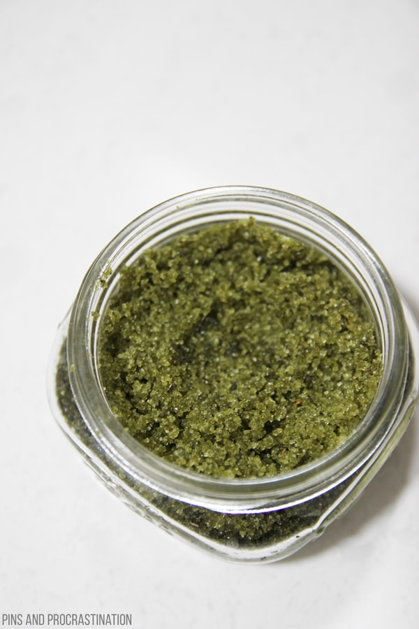 Green tea is amazing for your skin! It is full of antioxidants and vitamins that help give your skin a healthy glow. That's why this DIY green tea exfoliating scrub is so healthy for your skin. It's an all natural solution that will make your skincare routine even better. My skin loves this stuff- and I can't believe how easy it is to make.
