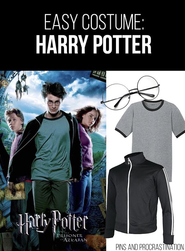 Easy Last Minute DIY Halloween Costume: Harry Potter
