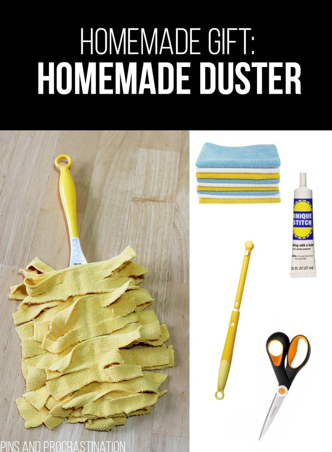 Picking out gifts can be so difficult. That's why I love homemade gifts- they're easy to customize and they feel so personal, and they save you money! So it's really a win-win. This list of homemade gift ideas is perfect! This homemade duster is a perfect gift.