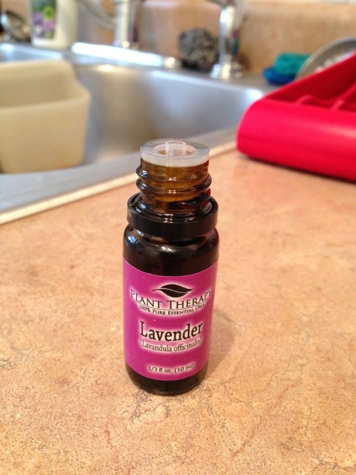 Homemade coconut lavender moisturizing face exfoliator/ scrub
