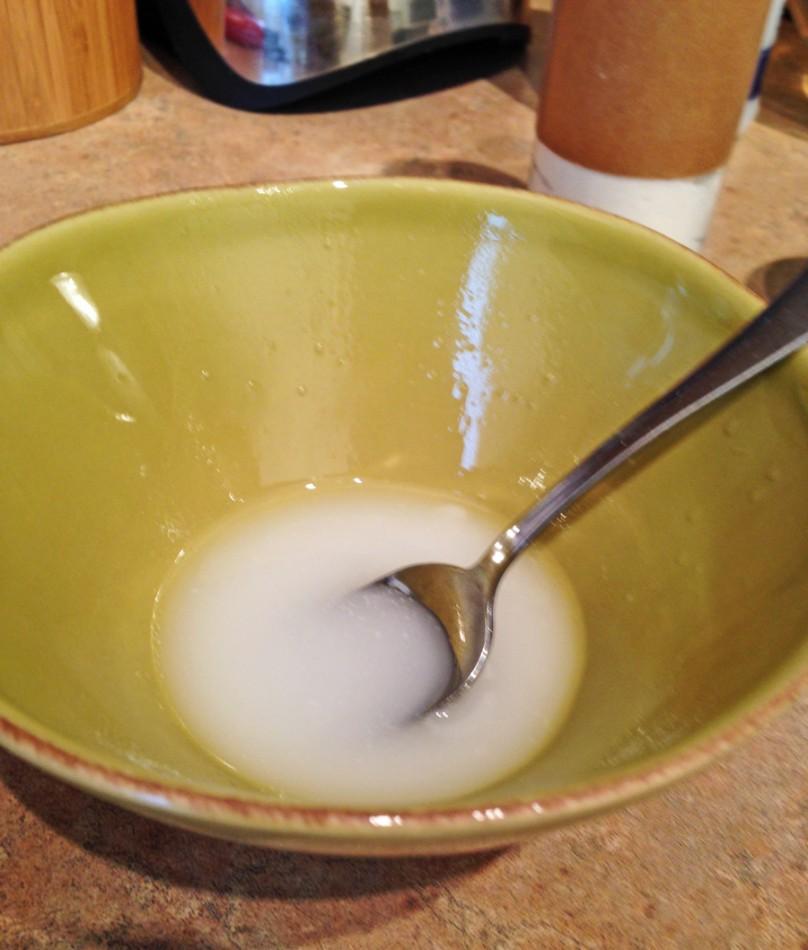 Homemade coconut lavender moisturizing face exfoliator/ scrub mix