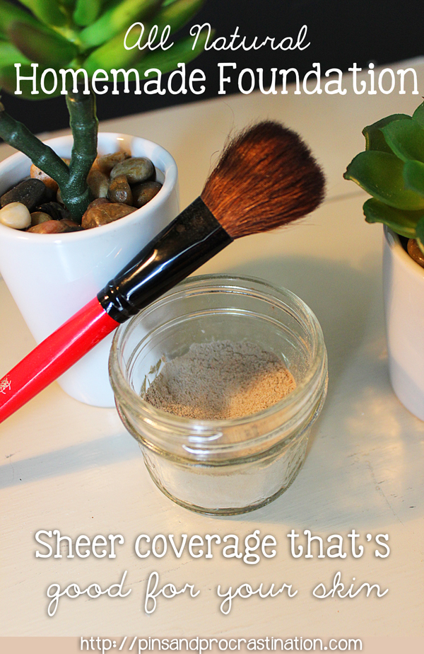 All Natural Homemade Foundation That's Good For Your Skin
