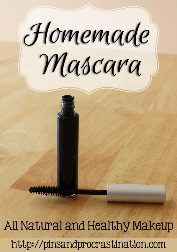 Homemade Mascara: All Natural Healthy Makeup