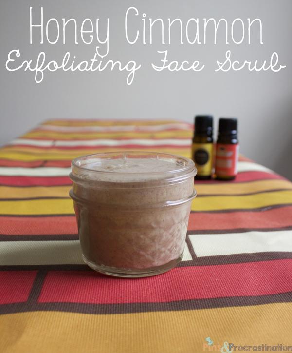 Honey Cinnamon Face Scrub/ Exfoliator