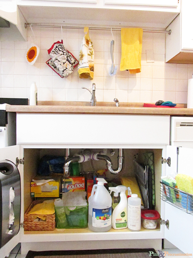 Kitchen organization solutions for small kitchens Very small kitchen storage ideas