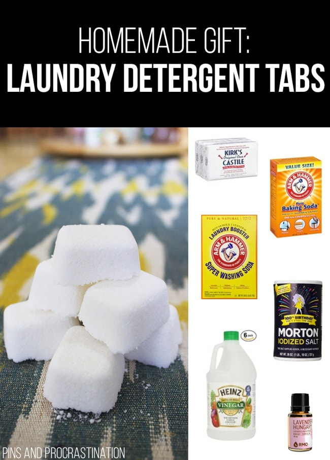 Picking out gifts can be so difficult. That's why I love homemade gifts- they're easy to customize and they feel so personal, and they save you money! So it's really a win-win. This list of homemade gift ideas is perfect! This homemade laundry detergent is a perfect gift.