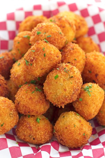 mashed potato balls little spice jar