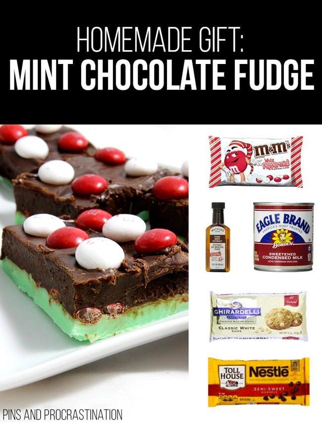Picking out gifts can be so difficult. That's why I love homemade gifts- they're easy to customize and they feel so personal, and they save you money! So it's really a win-win. This list of homemade gift ideas is perfect! This homemade fudge is a perfect gift.