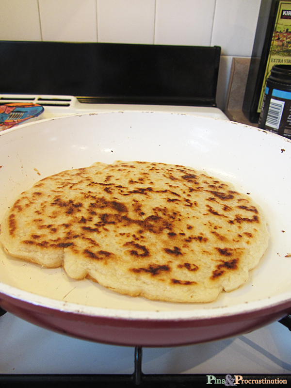 recipe and uses for three ingredient paleo naan