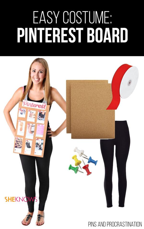 Easy Last Minute DIY Halloween Costume: Pinterest Board