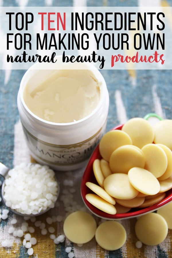 If you want to make your own homemade natural beauty products to live a healthier and more natural lifestyle- these ten ingredientsare all must haves! They're all healthy, natural, and do great things for your skin and hair. Who knew these ingredients were all amazing for natural skincare? I was surprised by number 8!