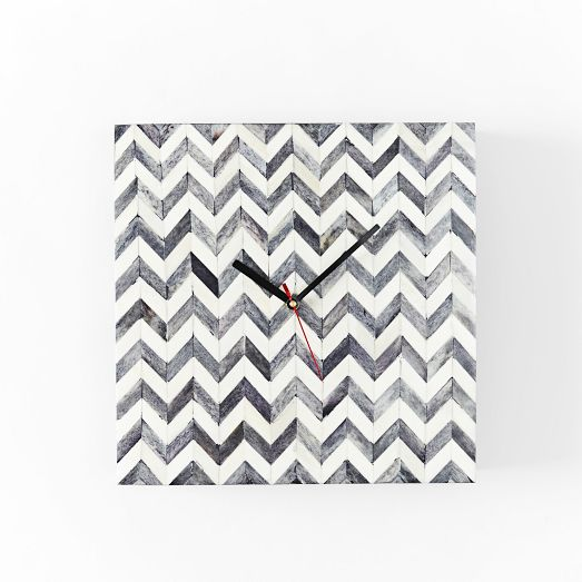 west elm clock